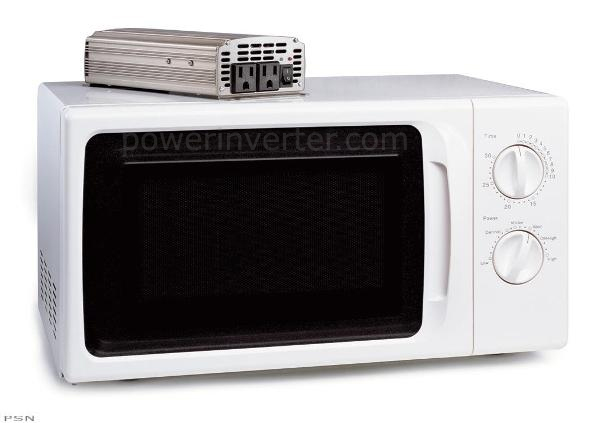 DC to AC Power Inverter with 800 watt Microwave