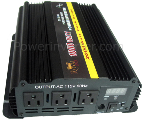 Power Inverters – How to install a DC to AC Power Inverter