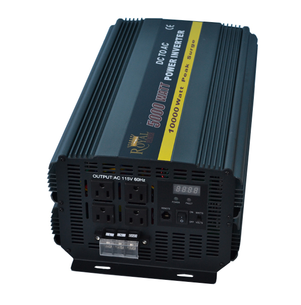 Using a 5000 Watt Power Inverter to Run an Off Grid Home