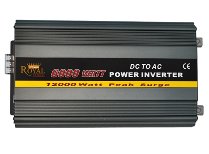 6000 Watt 12 VDC to 115 VAC Power Inverter